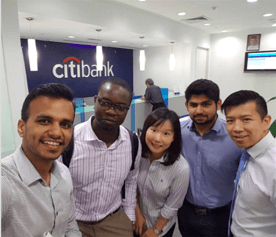 Three engineers and a lawyer walk into a bank
