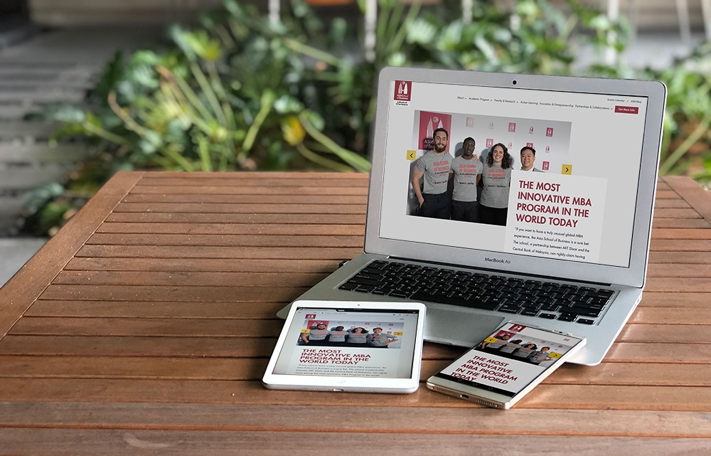 Say hello to the new ASB website! | Asia School of Business