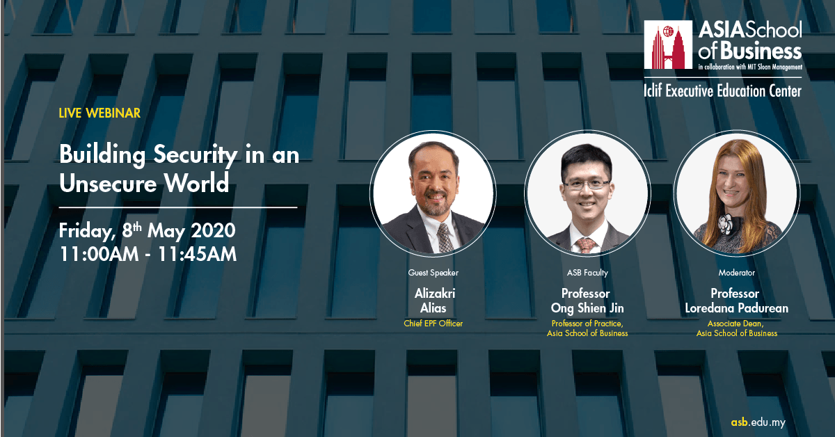 Webinar: Building Security in an Unsecure World