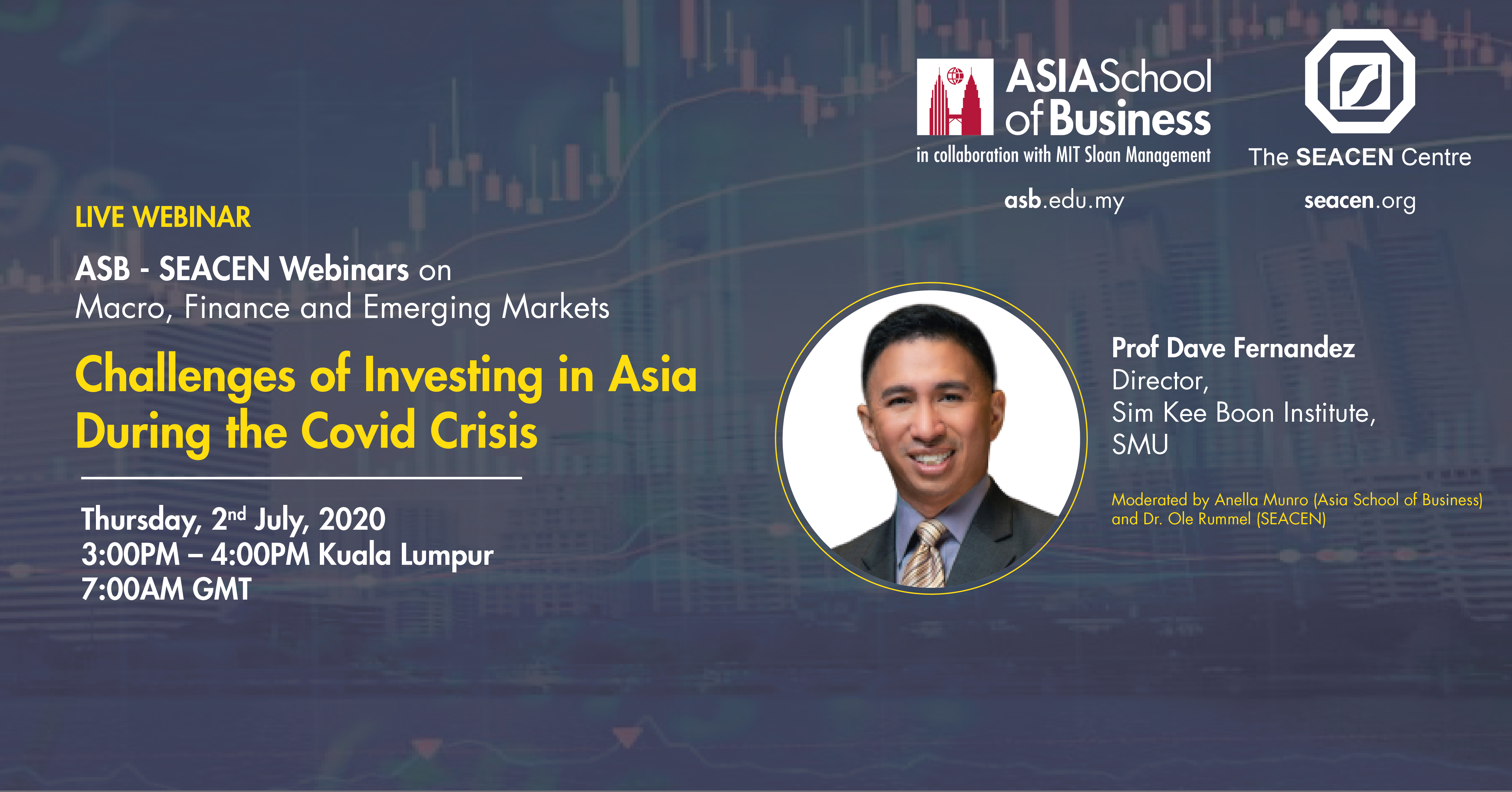 Webinar: Challenges of investing in Asia during the Covid Crisis