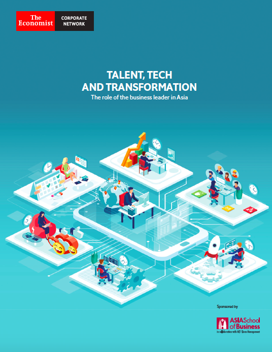 Webinar: Talent, Tech and Transformation - The role of the business leader in Asia