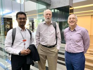 Aidil, Prof Womack and Prof. Charles